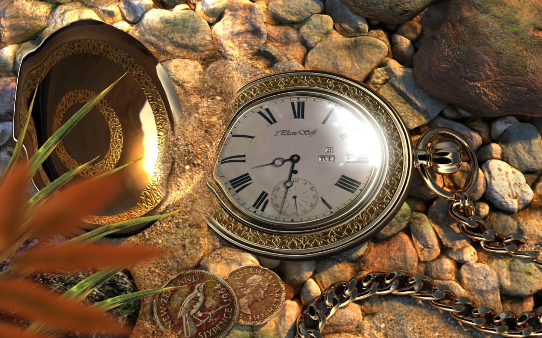 Часы для рабочего стола  Старинные часы